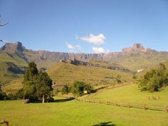Tendele. Royal Natal Park. Drakensburg mountains. South Africa Midland Meander, African Life, Le Cap, Kwazulu Natal, Out Of Africa, Africa Travel, Homeland, Places Ive Been, South Africa