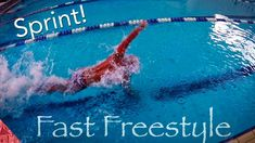 How to swim fast freestyle. Sprint front crawl