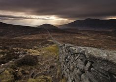 #PhotoOfTheDay: the Mourne Wall, in the mountains of Northern Ireland. By @GaryMcParland http://intlifem.ag/162Zd5k