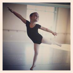 Tiny ballerina :)