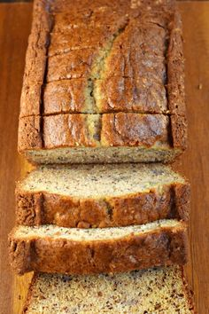 Add a little texture and tang to your breakfast with this Sour Cream Banana Bread. The addition of sour cream in this recipe is pure genius for the most delicious, moist slice of banana bread! Super Moist Banana Bread, Sour Cream Banana Bread, Zucchini Banana Bread, Best Banana Bread, Breakfast Bread Recipes, Mexican Breakfast Recipes, Banana Bread Recipes, Bread Dough Recipe, Pure Genius