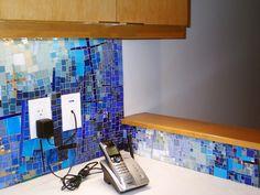 Kitchen Mosaics, by mosaic artist Cynthia Fisher - B I G B A N G M O S A I C S