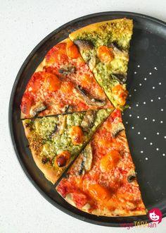 Individual veg nachos vegetaraian recipes from australian food homemade pizza bases vegetaraian australian foodvegetarian entreespizzascooker recipesboardhomemade forumfinder Images