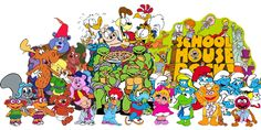 Aaah, nothing better than Saturday morning cartoons back in the 80s :)