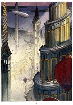 François Schuiten ~ The Obscure Cities