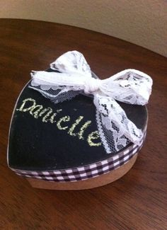 Chalk Board Gift Box