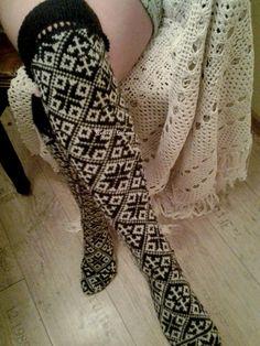 wool socks handmade socks knitt socks Norwegian by WoolMagicShop