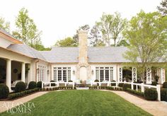 2017 Southeastern Designer Showhouse house and gardens