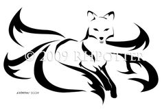 Five-Tailed Kitsune by RHPotter on deviantART