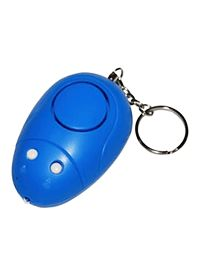 Keychain Personal Alarm with Light 130dB, Blue