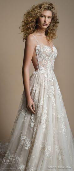 Wedding Dress by GALA by Galia Lahav Collection No. VI | Thin strap sweetheart neckline ball gown wedding dress | full embellishment bustier romantic a line bridal gown chapel train | #weddingdress #weddingdresses #bridalgown #bridal #bridalgowns #weddinggown #bridetobe #weddings #bride #weddinginspiration #weddingideas #bridalcollection #bridaldress #fashion #dress See more gorgeous bridal gowns by clicking on the photo