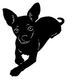 Chihuahua Decal STDC #6 Companion Dog Breeds Sticker - Wildlife Decal