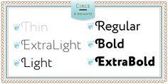 Circe - Webfont & Desktop font « MyFonts $220 for six weights // by Alexandra Korolkova