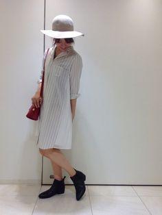 【サイドプリーツシャツワンピース】アーバンリサーチ福岡パルコ店のブログを ご覧の皆様、こんにちは…