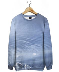 The Swell as All-Over Print Sweatshirt by Pale Grain | JUNIQE