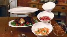 Serving Platters from Willow Group in Patrick & Company, TM 2-2927. #dallasmarket #gourmetproducts