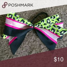 Large cheer bow Message me for custom bow! Accessories Hair Accessories