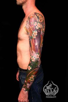 Shige - Yellow Blaze - Koi Sleeve