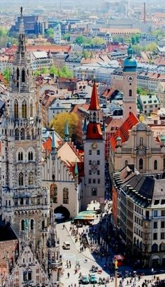 Munich, Germany - was there in the 1970s, returned twenty years later to find Dollar Store on the platz!!!!