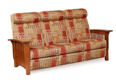Amish Mission Recliner Sofa | Amish Sofas 13090
