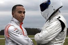 The Stig and F1 champion Lewis Hamilton...yummy.