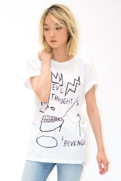 ELEVENPARIS x Basquiat Evil Thoughts T-Shirt