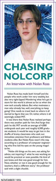 Chasing NolCorp.... hell yeah I'm chasing!!! ㋡