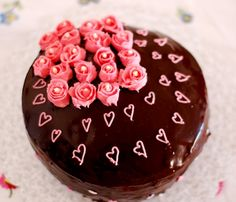 Moist Chocolate Cake with Chocolate Buttercream & Chocolate Ganache | Marias Menu