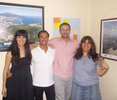 The evening teachers at AIL #Madrid. Featuring Ángela, Nacho, Jesús and Erika! At AIL Madrid we run evening classes throughout the week so even those leading busy lives can find a way to improve their #Spanish! http://www.ailmadrid.com/en/14/5/Spanish-Language-Course