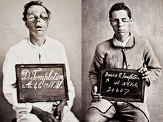 During the Civil War, an army surgeon named Dr. Reed Bontecou photographed wounded soldiers. Shown here are photos of a soldier from New York before and after his battlefield wounds to the eyes were treated.     Dr. Bontecou served as surgeon in charge at Harewood U.S. Army Hospital in Washington, D.C.    Credit: Dr. Stanley B. Burns.