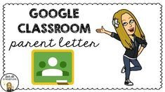 Notify parents that you'll be using Google Classroom with this free letter in English AND Spanish!