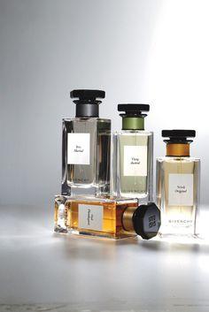 Givenchy's L'Atelier of fragrances. [Photo by John Aquino]