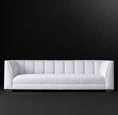 "Paxton Fabric Sofa 6', 7', 8', 9', 10' depth: 36"" height: 31"" RH MODERN"