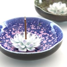 Unique ceramic incense burner blue disc handmade art incense holder incense burner tower incense buddha with-inCrafts from Home  Garden on Aliexpress.com $6.95
