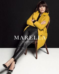 Milla Jovovich Fronts Marella Fall 2013 Campaign by Inez & Vinoodh   Fashion Gone Rogue: The Latest in Editorials and Campaigns
