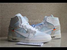 3deadd7ab9ea22 PK God Nike X Off White Air Jordan 1 Triple White Retail Materials Ready  from Citysole