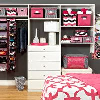 Everything has a space and everything in its place! Make each storage option count with this selection of ingenious products that keeps bathrooms, bedrooms and closets organized and easy to manage. From hanging racks and under-bed boxes to shoe wheels and garment bags, this collection has spring cleaning under control.