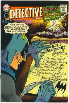 Last Will And Testament - Robin - Batman - Time - Candle - Carmine Infantino, Murphy Anderson