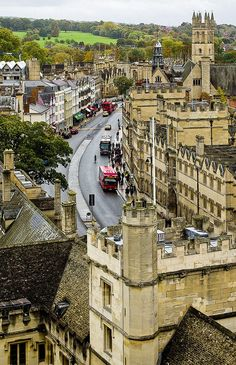 High Street - Oxford, England, UK