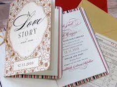 diy storybook wedding invitation - Google Search