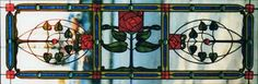 Arts and Crafts, McIntosh Roses