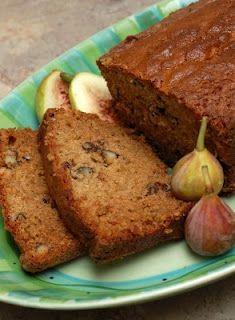 Fresh Fig & Walnut Bread    http://sugarandspice-celeste.blogspot.com/2008/08/fresh-fig-walnut-bread.html