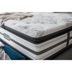 south haven california kingsize plush pillow top low profile mattress set