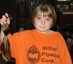 The Brat donated her hair to Locks of Love