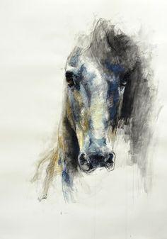 """Saatchi Online Artist Benedicte Gele; Drawing, """"Alerte V"""" #art"""