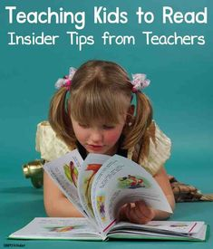 Insider teacher tips for teaching kids to read #teachingkidstoread #teachertips