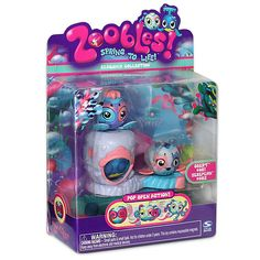 Zoobies Zoobles Crab and Sea Lion Happitat Toy