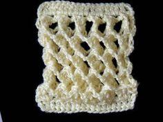 ▶ Crochet : Punto Tridimensional - YouTube