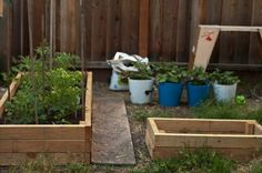 Great idea for raised beds using 2x4's