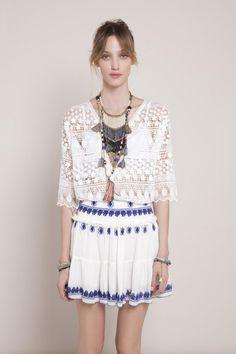 INDIGO GIRL · Skirt | Summer | Fashion | Blues